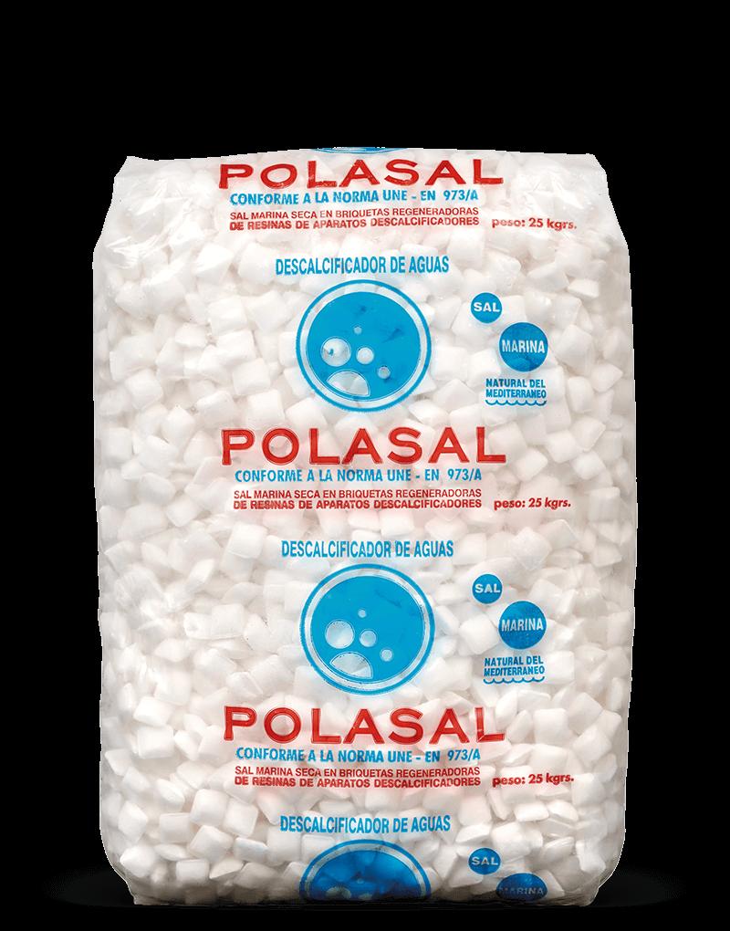 Paquete 25 kg sal tipo 00 Polasal