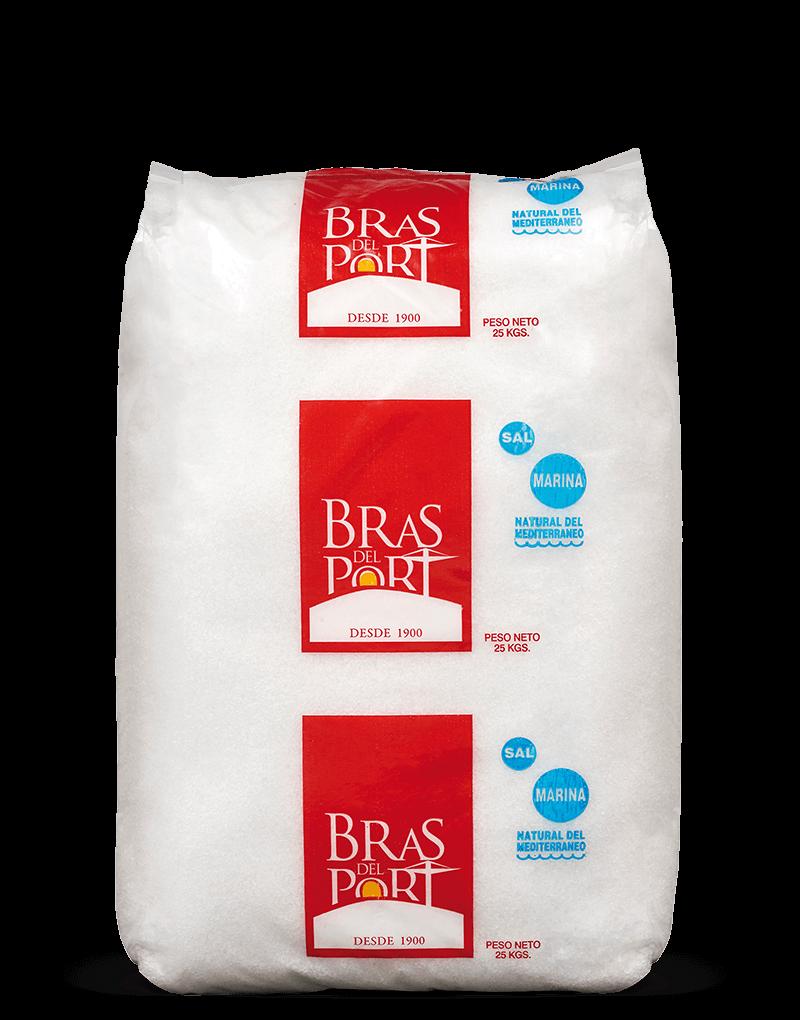 Paquete 25 kg sal húmeda fomento Bras del Port