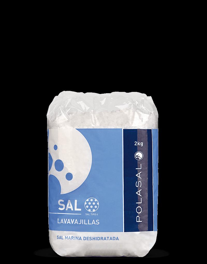 Paquete sal tipo 4 2kg Polasal