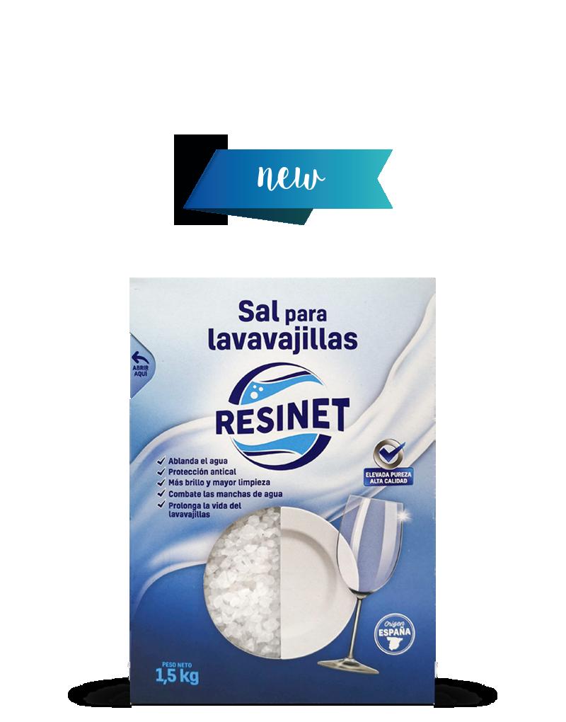Dishwasher salt 1.5kg Resinet by Polasal