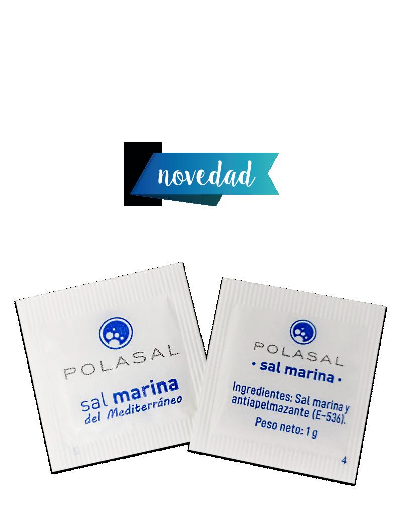 Monodosis sal marina fina 1g