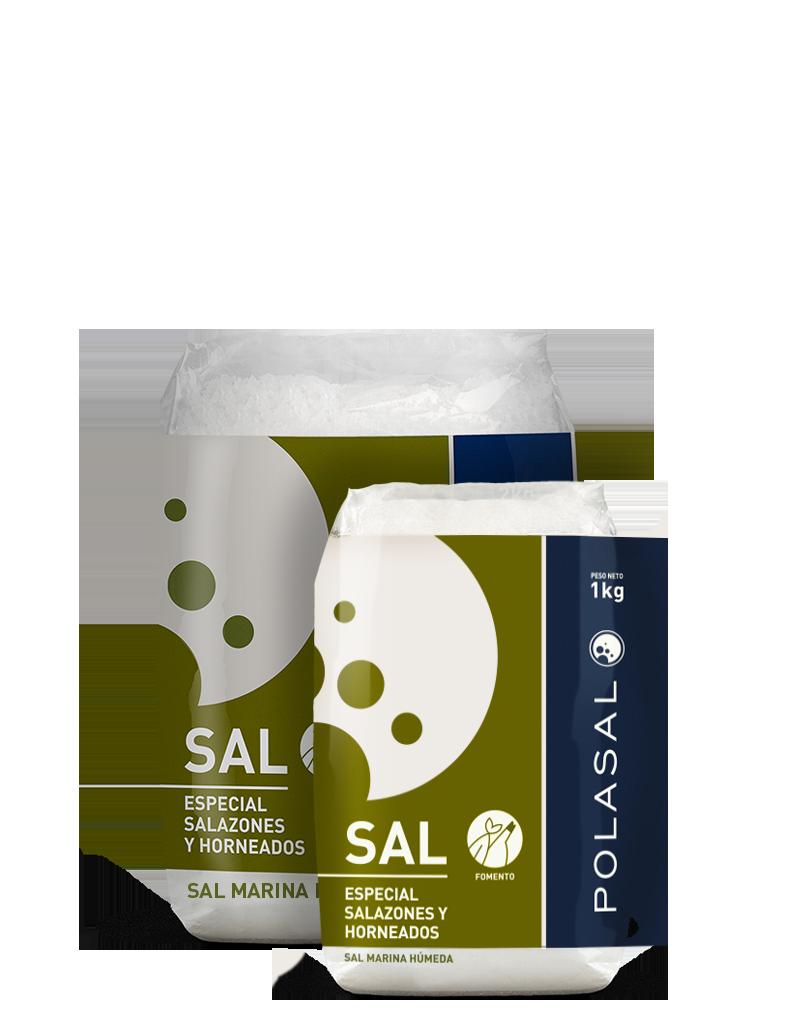 Paquete sal fomento 1kg y 2kg Polasal